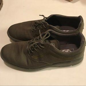 Vans men's mono green ISO 1.5 sneakers